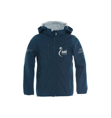 Giacca ragazzo in softshell